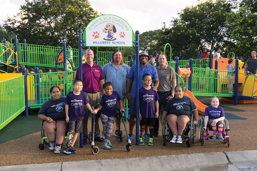 happy-campers-hillcrest dream build play experience accessible playgrounds