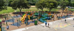 hillcrest-elementary dream build play experience accessible playgrounds